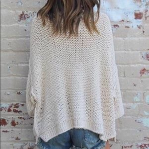 Free People Halo Oversized Pullover